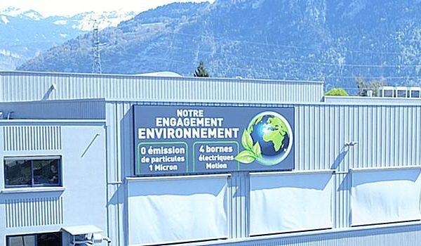Notre engagement environnement